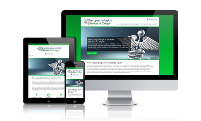 Neuropsychological Services of Oregon Website