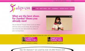 Slip-On Dancers