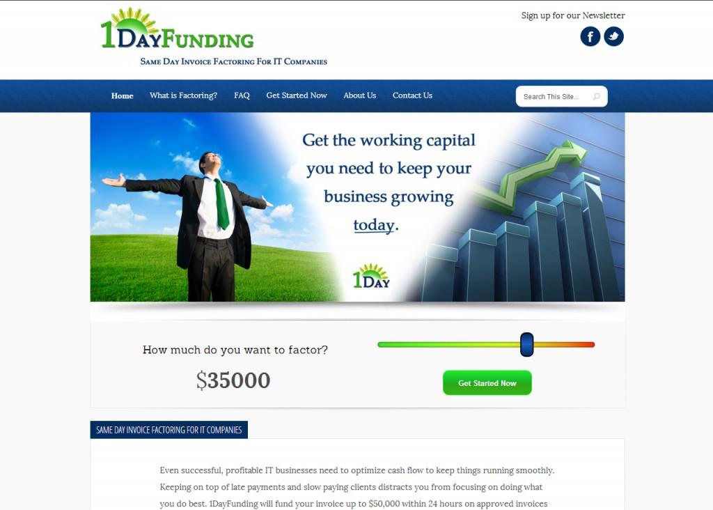 1DayFunding Invoice Factoring